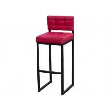 Барный стул Лофт 1 красный