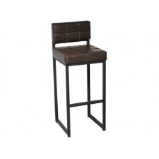 Барный стул Лофт 1 Шоколадная рептилия