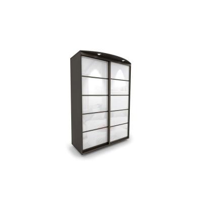 Шкаф-купе 2х-дверный №1 окрашенное стекло