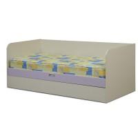 Кровать с подъемным механизмом Цветочек