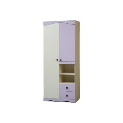 Шкаф для платья и  белья Цветочек