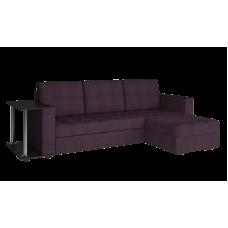 Диван угловой фиолетовый Атлант со столиком violet