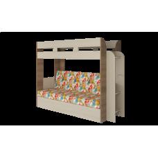Кровать двухъярусная Карамель 75 Ясень Арт