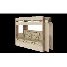Кровать двухъярусная Карамель 75 Газета