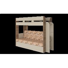 Кровать двухъярусная Карамель 75 Саванна