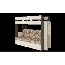 Кровать двухъярусная Карамель 75 Венге Лас Вегас