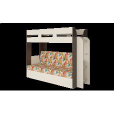 Кровать двухъярусная Карамель 75 Венге Арт