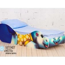 Кровать детская Бегемот Мотя