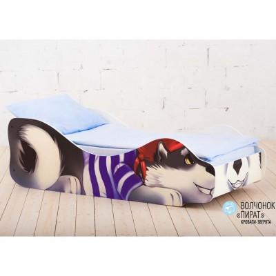Кровать детская Волчонок Пират