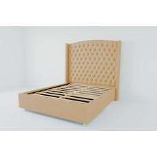 Кровать 1200 Берлин люкс с ламелиями 01ЛБР