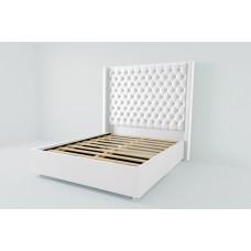 Кровать 1200 Версаль люкс с ламелиями 01ВРЛ