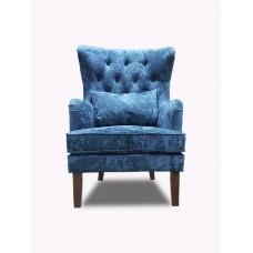 Кресло Альба синее
