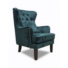 Кресло Альба изумрудное