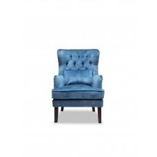 Кресло Альба голубое