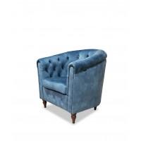Кресло Роберто синее