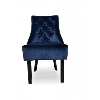 Кресло Софи темно синее