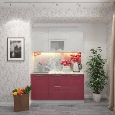 Кухня Клюква 1500 мм