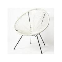 Кресло RC-194-1 белый