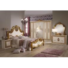 Спальный гарнитур Анита Беж (шкаф 6-ти дверный)