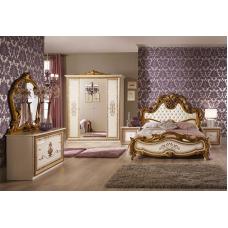 Спальный гарнитур Анита Беж (шкаф 4-х дверный)