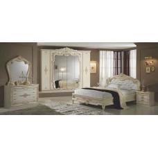 Спальный гарнитур Диана беж (6-ти дверный шкаф)