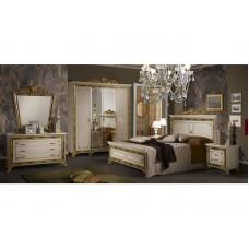 Спальный гарнитур Катя Беж (шкаф 4-х дверный)