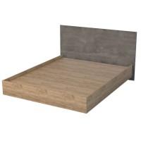 Кровать Эго арт. 031 1600 камень темный
