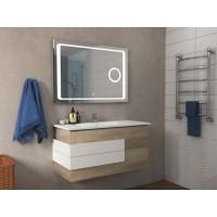 Комплект мебели для ванной с зеркалом с линзой Sansa