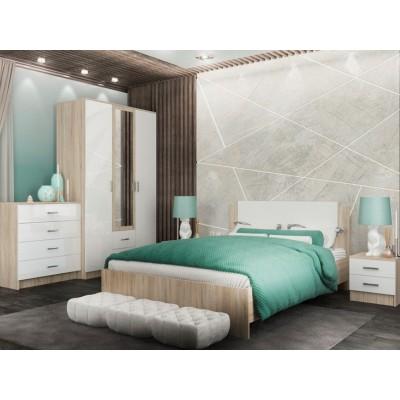 Спальня Софи с трехстворчатым шкафом