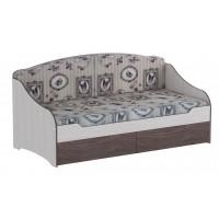 Кровать одинарная с подушками Омега