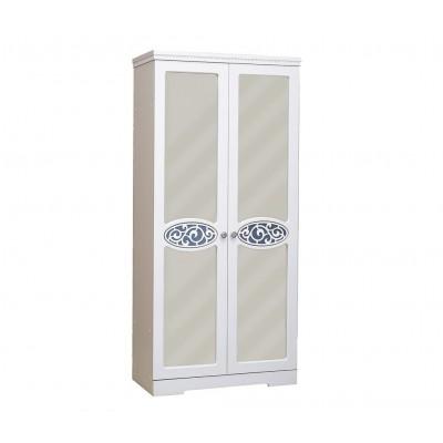 Шкаф 2-х дверный для одежды и белья Виктория