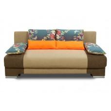 Прямой диван Киви Муд подушки с чехлом на молнии