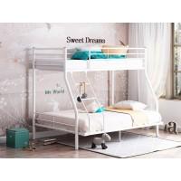 Двухъярусная кровать Гранада-2 140 белая