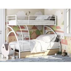 Двухъярусная кровать Виньола-2 Я белая