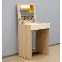 Туалетный столик Эксон дуб сонома-белый
