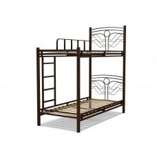 Кровать 90 ФАНТАЗИЯ-2 2-х ярусная венге