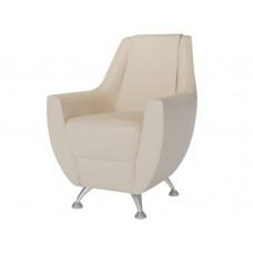 Банкетка кресло Лилиана 6-5121 кожзам бежевый
