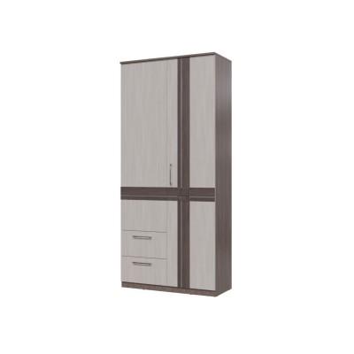 Шкаф 2-х дв. с ящиками Презент арт. 4-4819