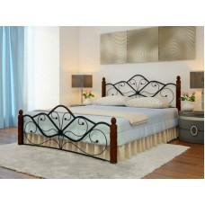 Кровать Венера 1 с кованой спинкой