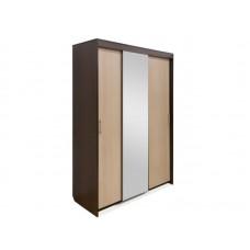 Шкаф-купе 3-х дверный №1 с зеркалом Камелия (Курск)