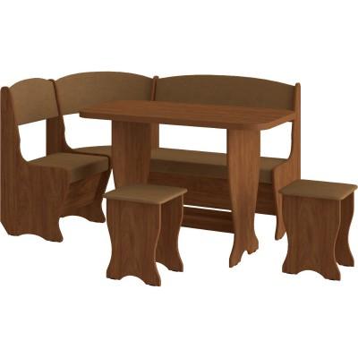 Кухонный уголок с раскладным столом Весна