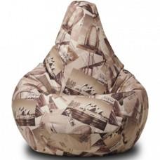 Кресло мешок XL категория 2 Travel Sepia