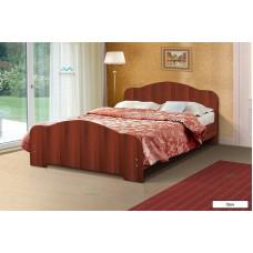 Кровать двойная 1200 орех