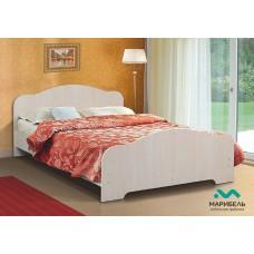 Кровать двойная 1200 туя светлая