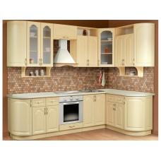 Кухонный гарнитур угловой Классика 2.7х1.5 м