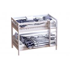 Двухъярусная кровать Авалон с прямой лестницей