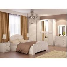 Спальня белая Александрина