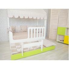 Кровать Домик с выдвижным местом