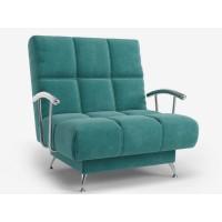 Кресло Финка с подлокотниками бирюзовый Электра 103
