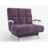 Кресло Финка с подлокотниками фиолетовый Нео 17
